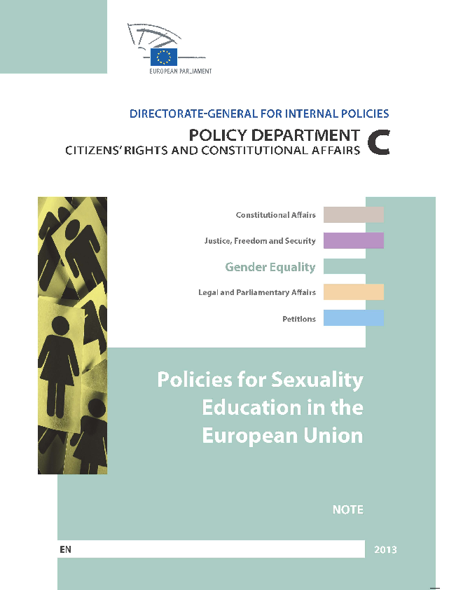 Policies for Sexuality Education in the European Union